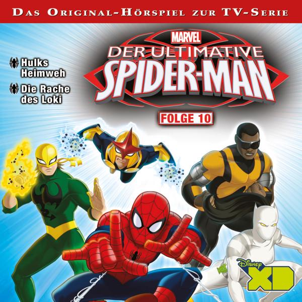 Marvel - Der ultimative Spiderman - Folge 10 - Hulks Heimweh / Die Rache des Loki