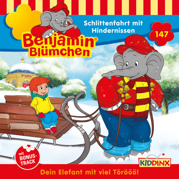 Benjamin Blümchen - Folge 147: Schlittenfahrt mit Hindernissen