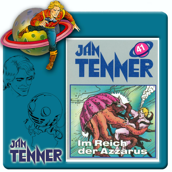 Jan Tenner Classics - Im Reich des Azzarus - Folge 41