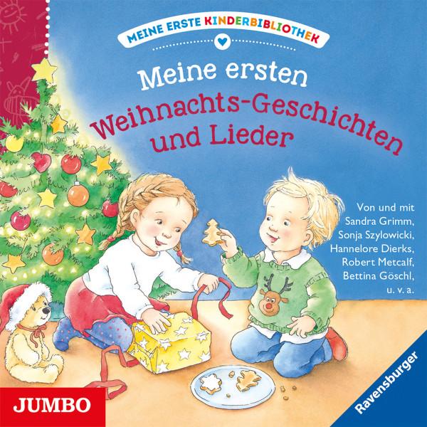 Meine erste Kinderbibliothek. Meine ersten Weihnachts-Geschichten und Lieder